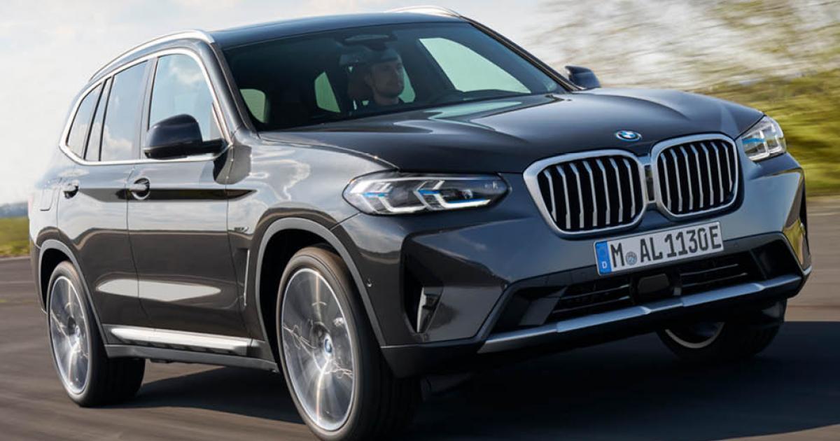 BMW X3 och X4 uppdateras – här är nyheterna